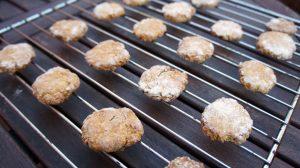 Receta: cookies de avena y manzana