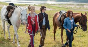 bibi y tina película alemana de dos chicas que viven aventuras a caballo