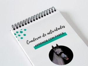 cuaderno de actividades de caballos para pequeños jinetes