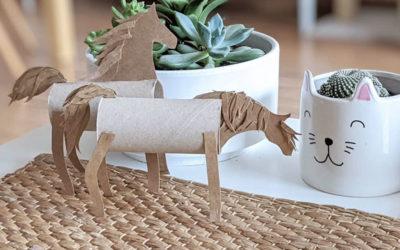 Caballos de papel con Paper Horse Challenge