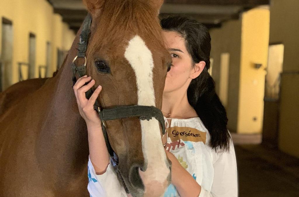 Mi caballo y yo: Fernanda y Chasco