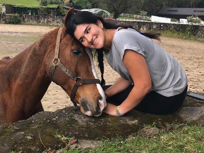 maria fernandaa y chasco, protagonistas de mi caballo y yo