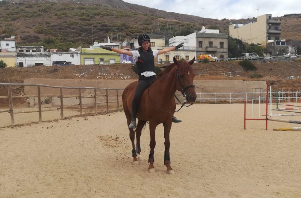 Mi caballo y yo: Nerea y Ancora