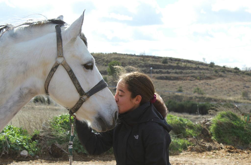 Mi caballo y yo: Andrea y Lucero