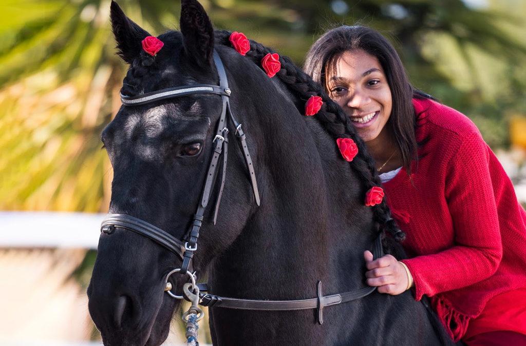Mi caballo y yo: Océane y Flock