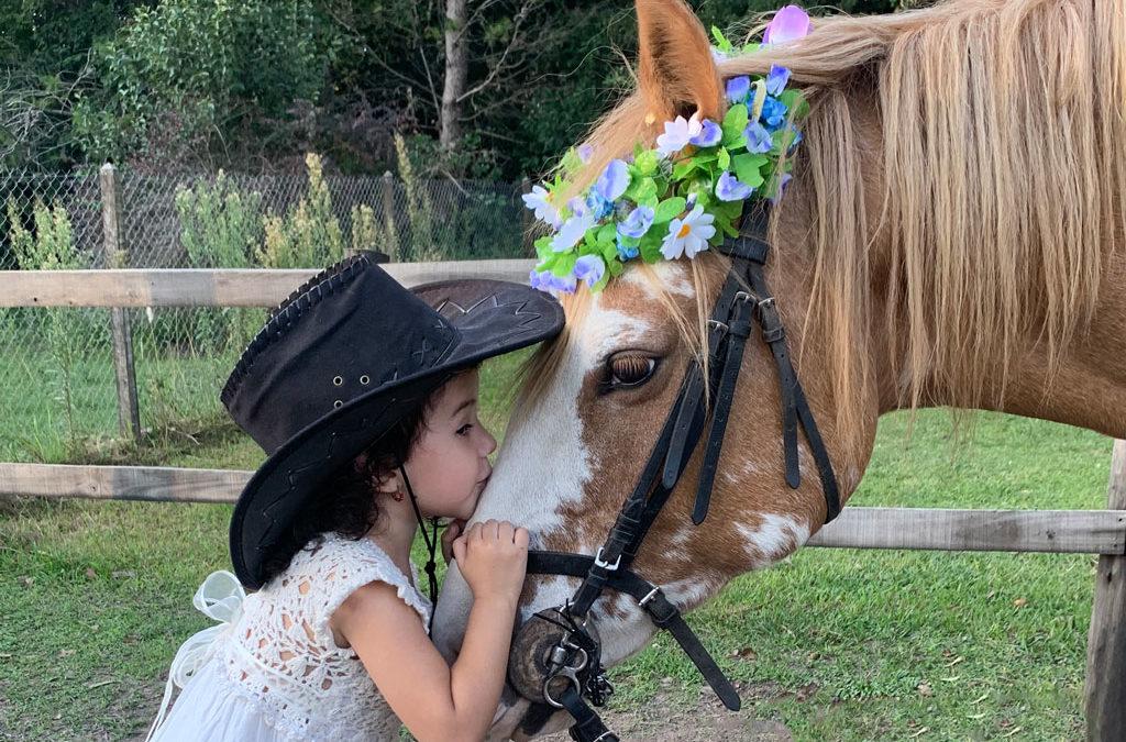Mi caballo y yo: Martina y Rosita