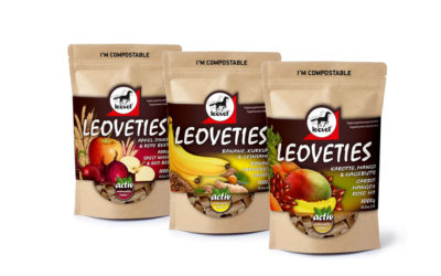 Nuevos Leoveties con envase compostable